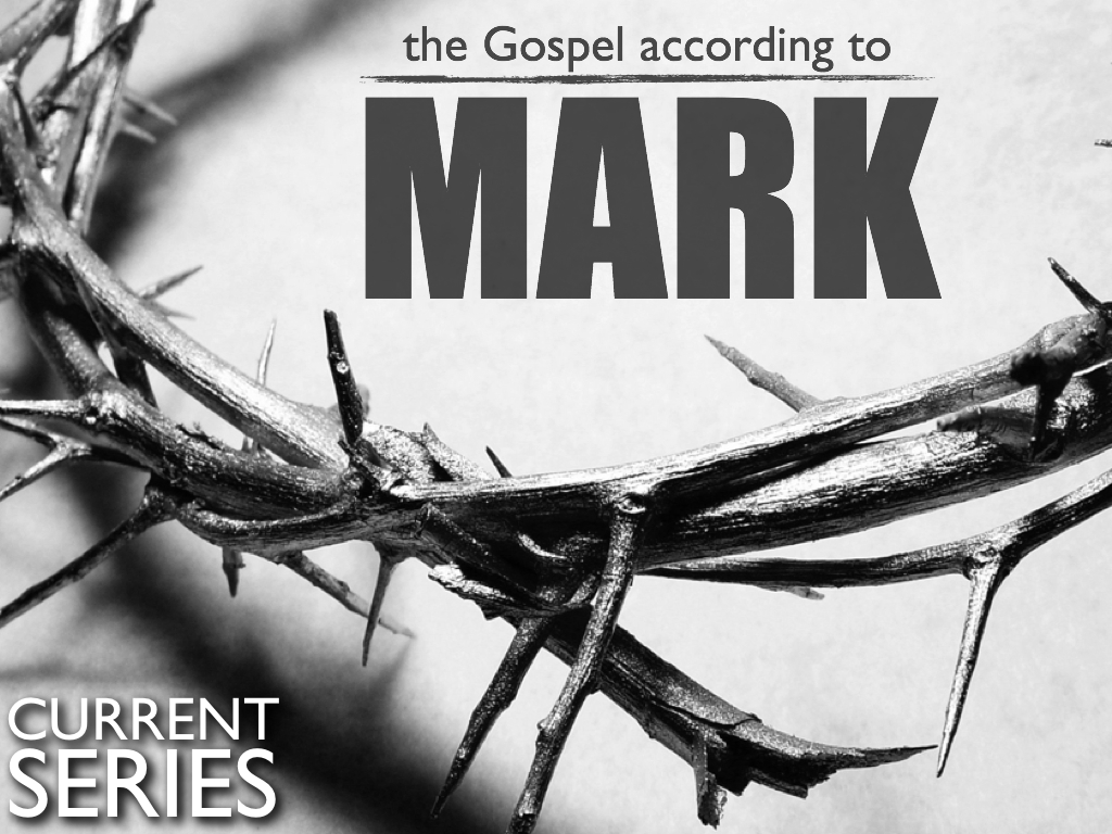 The Gospel According To Mark_homepage